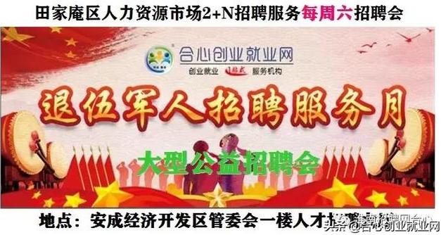 田家庵区人社局举办2019年退役军人专场招聘会